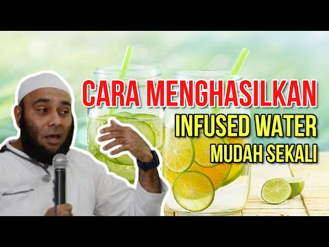 Resep Herbal Infused Water JSR Dokter Zaidul Akbar